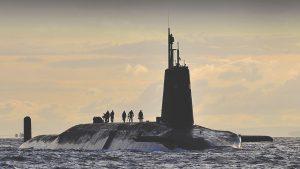 Babcock Vanguard Submarine Faslane Content Digital Strategy Mobile App design military