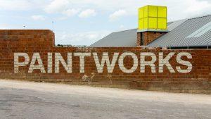 Bristol Paintworks Entrance Bristol Marketing image