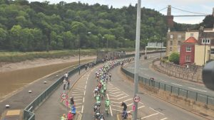 Portway Tour of Britain 2015 image Cycling Bristol marketing agency