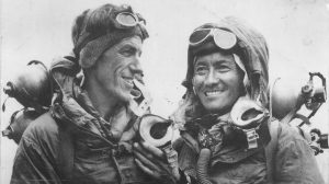 Hillary and Tenzing share a tender moment image Bristol marketing content digital social media advice