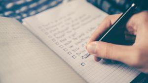 Notebook writing image