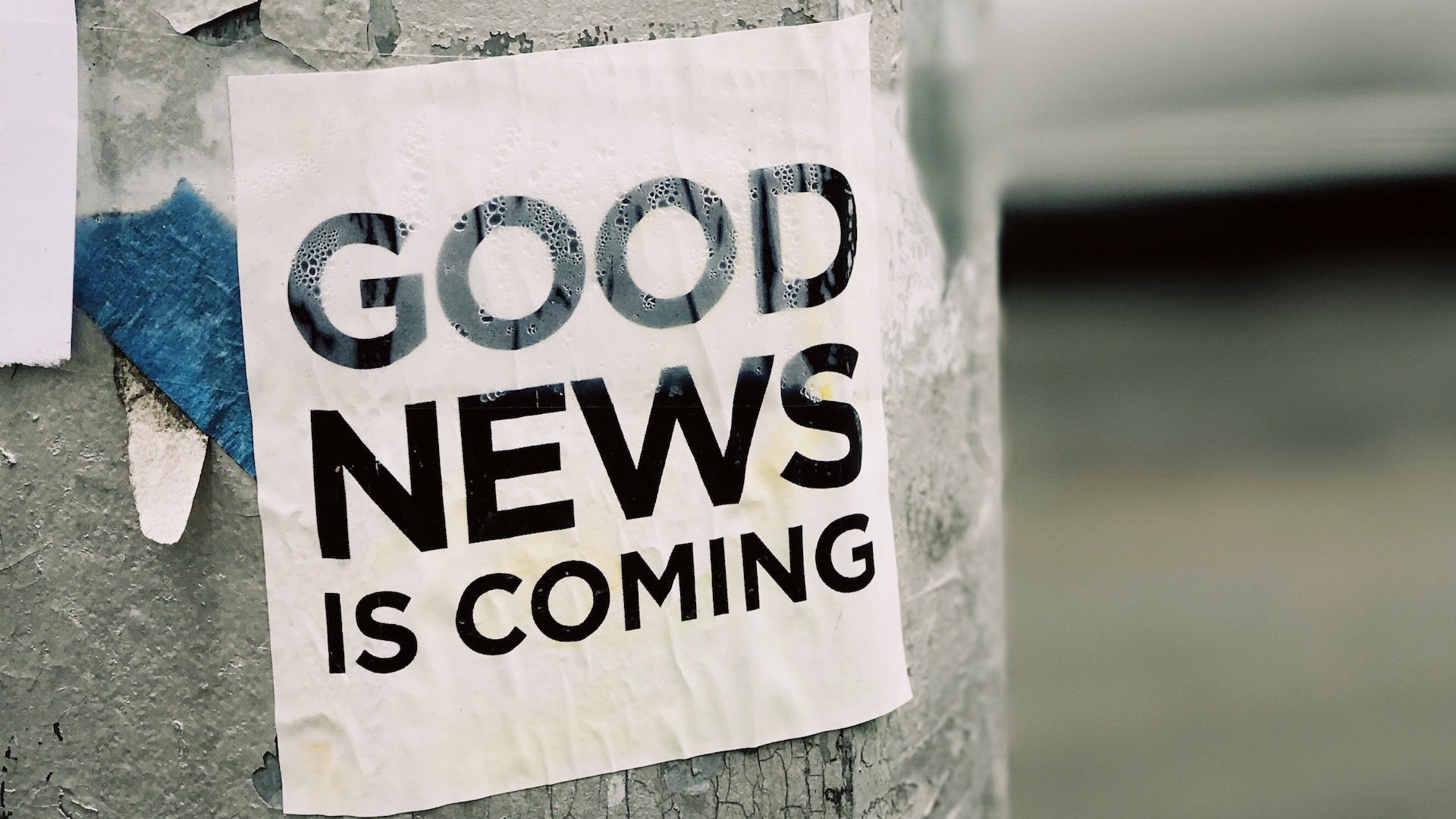 Good news is coming image Bristol marketing agency content agency digital agency