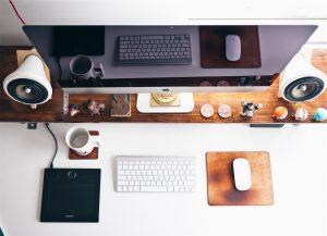 Generic Desk Image content typewriter marketing professional