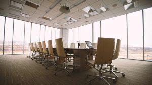 Boardroom image marketing presentation
