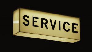 Service sign image Bristol Paintworks Bristol Marketing