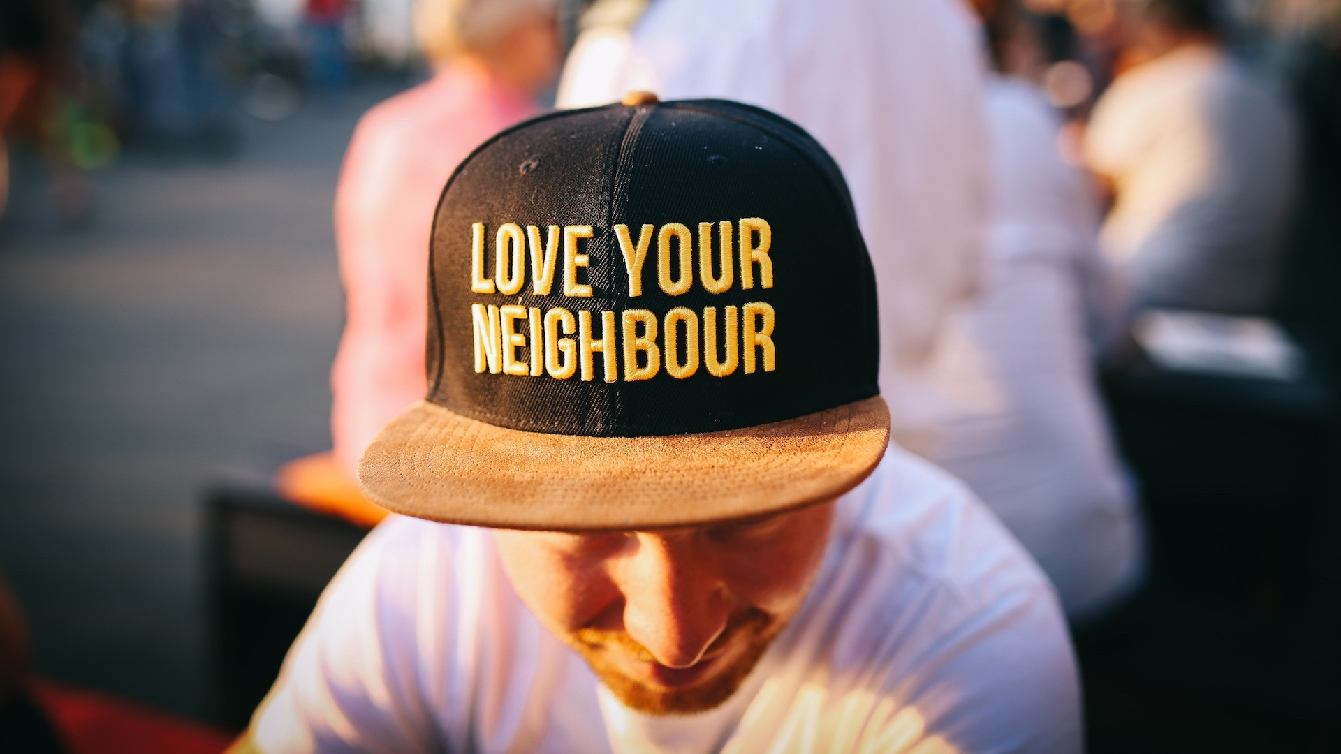 Love your neighbour image copywriting bristol agency marketing journalism