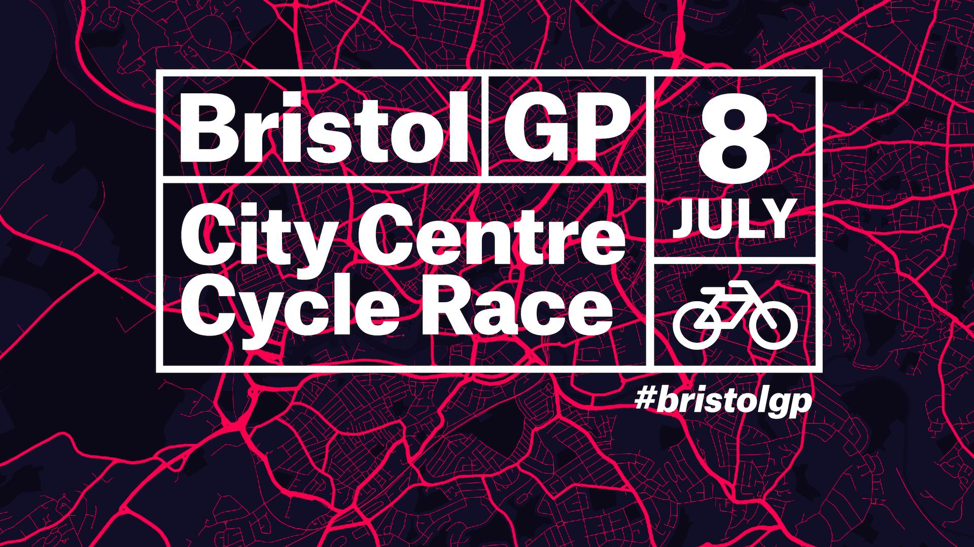 Bristol GP 2018 poster cycling marketing cycling content cycling PR