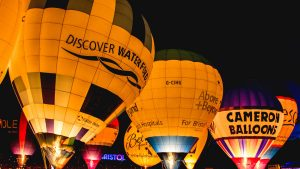 Balloons in Bristol image content marketing agency
